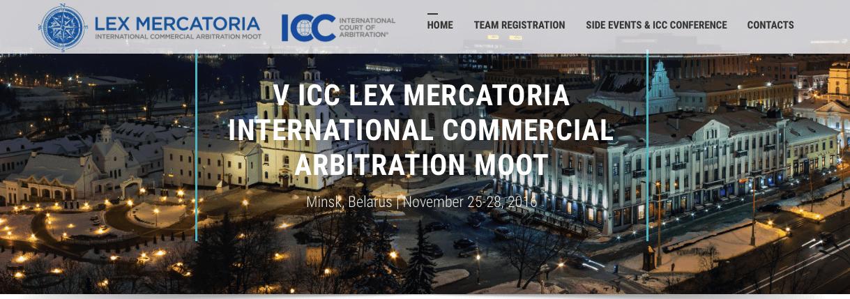 ICC Lex Mercatoria Team Registration is Open Now!
